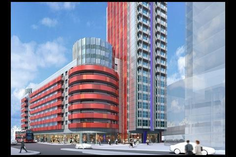 CZWG's design for £180m Rathbone Place development in Canning Town